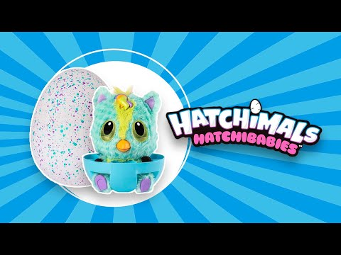 Крошки Hatchibabies - обзор | Hatchimals Hatchibabies