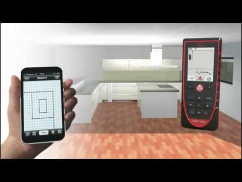 leica disto d510 c sketch app youtube. Black Bedroom Furniture Sets. Home Design Ideas
