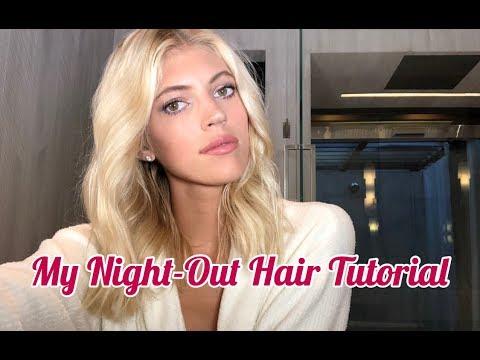 My Night-Out Hair Tutorial | Devon Windsor