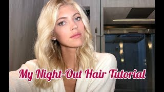 My Night-Out Hair Tutorial | Devon Windsor
