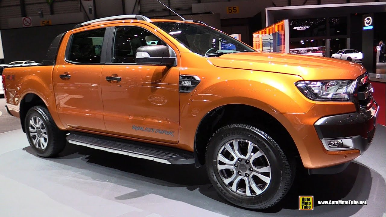 2016 Ford Ranger >> 2016 Ford Ranger Wildtrack Exterior And Interior Walkaround 2016 Geneva Motor Show
