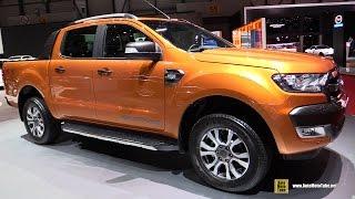 2016 Ford Ranger Wildtrack - Exterior and Interior Walkaround - 2016 Geneva Motor Show