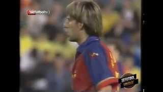 Gol de Miguel Ángel Angulo a EEUU en las semifinales de los JJOO Sydney 2000