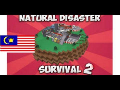 Boleh Main Tipu!!!!!!!! [Natural Disaster Survival 2] Roblox #Malaysia