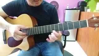 Hướng dẫn intro, lead & đệm guitar hợp âm đầy: Bài ko tên số 4