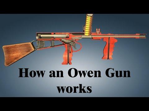 How an Owen Gun works - YouTube