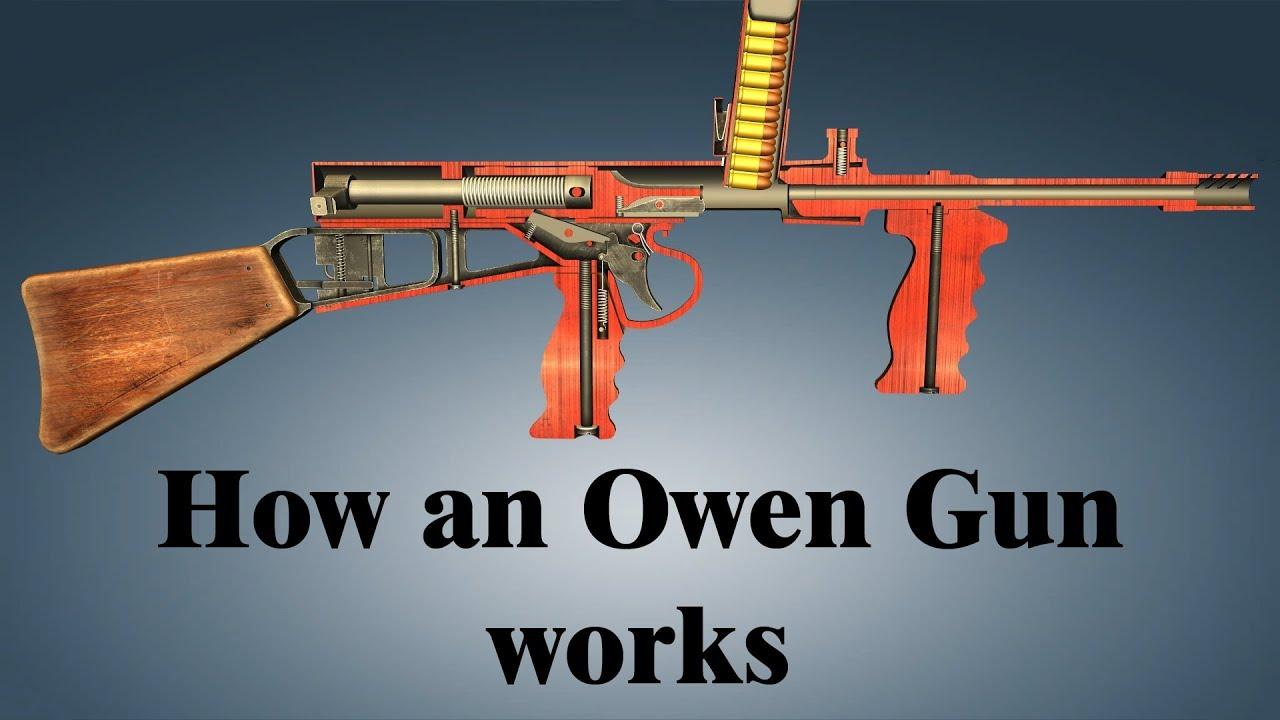 How an Owen Gun works