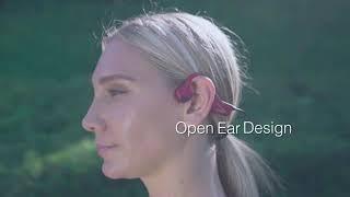 Eken bone conduction headphones- red