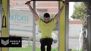 MUSCLEMESH Egzersizleri Hanging Leg Raise + Side Crunch - Karın/Mide