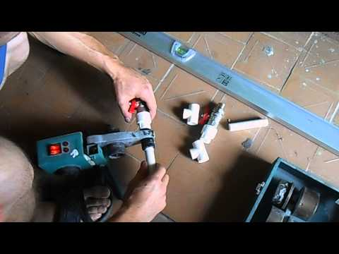 Как сделать байпас для радиатора отопления из полипропилена