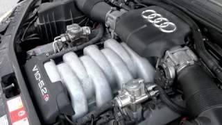 Audi S8 5.2 V10 Lamborghini Engine with full miltek exhaust system