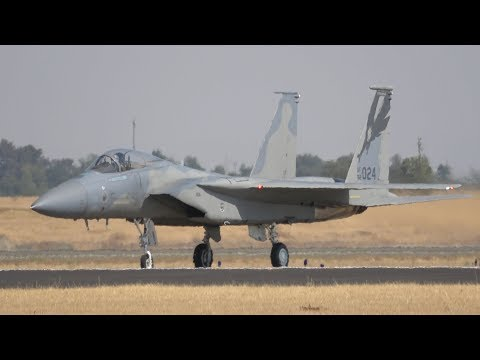 F-15C Eagle .. California Capital Airshow 2017 (4K)