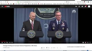 Hurricane Florence, Q-Anon, and the Military Coup of the USA