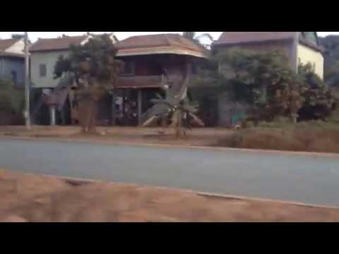 Remote Area In Cambodia   Cambodia countryside View
