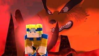Minecraft: Naruto C - NARUTO VIROU A KYUUBI! #13