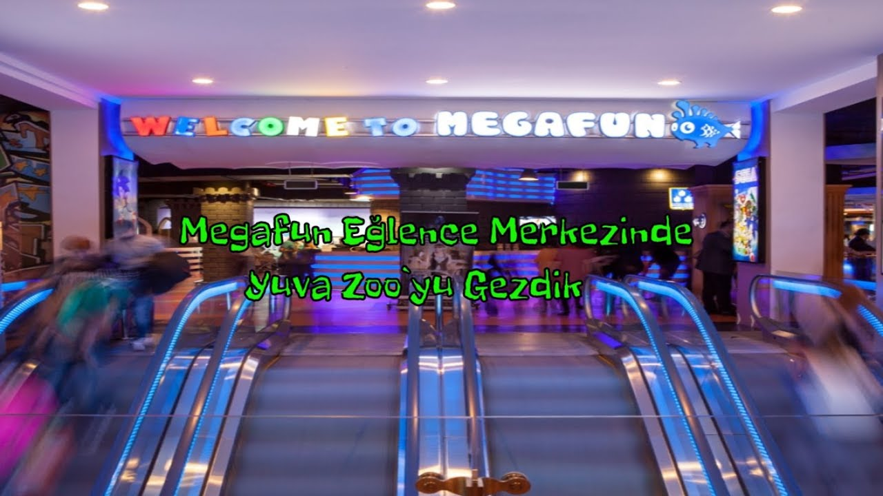 Bakı #Megafon Eylence Merkezini Gezdik | Azerbaycanı Tanıyalım