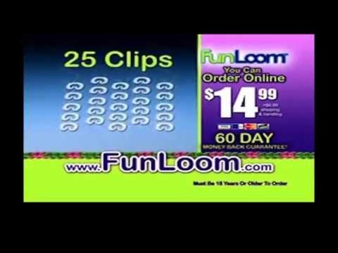 FunLoom | FunLoom As Seen On TV Rubber Band Bracelet Making Kit | FunLoom