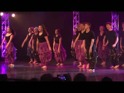 2017 HRHS Dance Recital   F24 F25 Nacho Re    Jai Ho