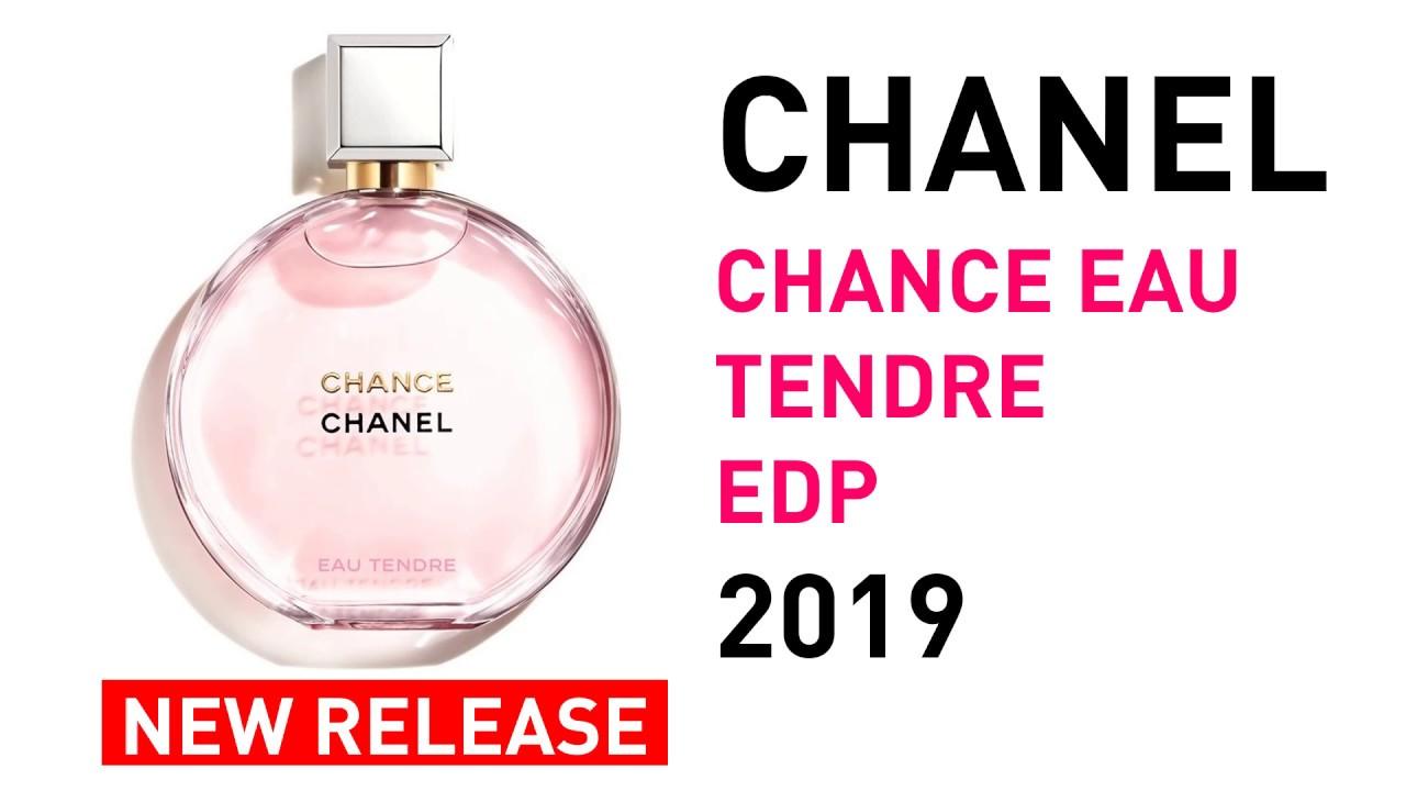 12d41528 Chanel Chance Eau Tendre EDP New Fragrance for Women 2019