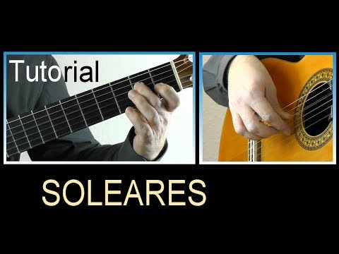SOLEARES - an easy guitar tutorial & score ♫♫