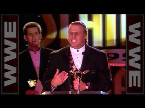 Owen Hart steals a Slammy Award: 1997 Slammy Awards