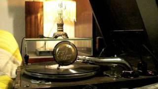 """Margaret Whiting sings """"St. Louis Blues"""" at 78rpm on a """"Paillard"""" post WWII"""