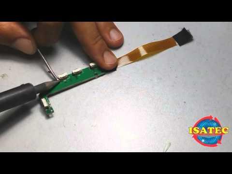Como trocar ou retirar o conector, botão ou jack do power