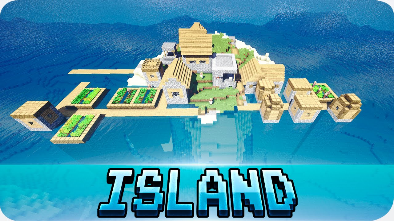Minecraft 1111.111111 Seeds - Island with Village, Mineshaft and Water Temple!  (1111.111111.11)