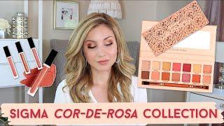 Sigma Cor-de-Rosa Collection | Tutorial & Swatches