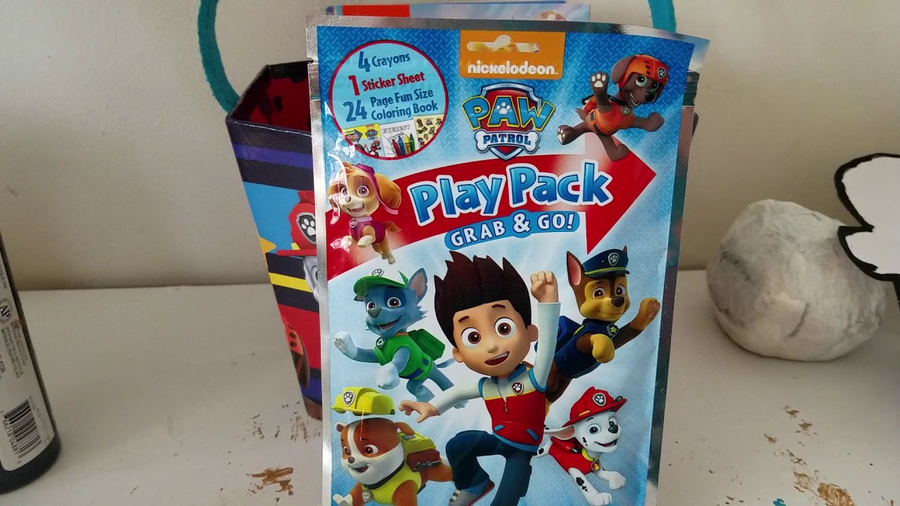 play pack grab and go paw patrol