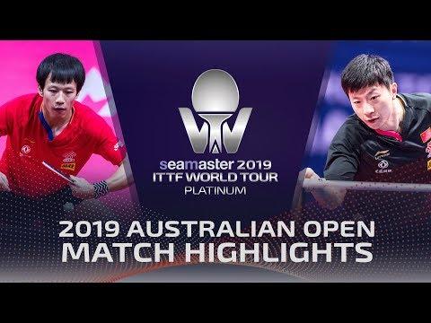 Ma Long Vs Lin Gaoyuan   2019 ITTF Australian Open Highlights (1/4)