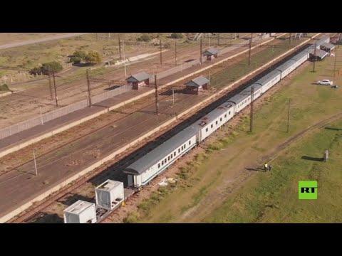 جنوب إفريقيا تسيّر قطارا مستشفى لتطعيم السكان ضد كورونا