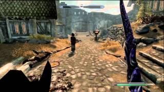 Skyrim - Kinect Demonstration/Gameplay