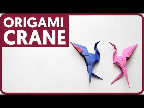 [DIAGRAM] Origami Crane (Taiko Niwa)
