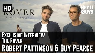 Robert Pattinson & Guy Pearce Exclusive Interview - The Rover