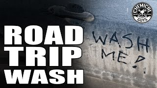 Road Trip Car Wash Detail - Part 1 - How To Wash And Wax A Dirty Black Car - Chemical Guys