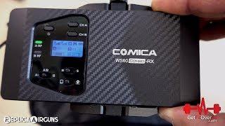 Comica WS60 UHF Dual Mini Wireless Microphone Combo Full Review