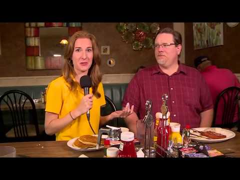 Sunny Side Up:  Wampach's in Shakopee with Kris Laudien and Ellery McCardle