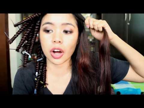 D.I.Y Spiral Curls Method 5 No Heat