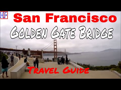 San Francisco | Golden Gate Bridge | Tourist Attractions | Episode# 6