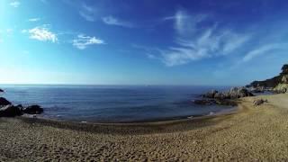 Пляжи Ллорет де мар - Са Боадея