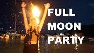 Full Moon Part at Trellis Bay BVI, Fire Dancers - Sailing Doodles Episode 28