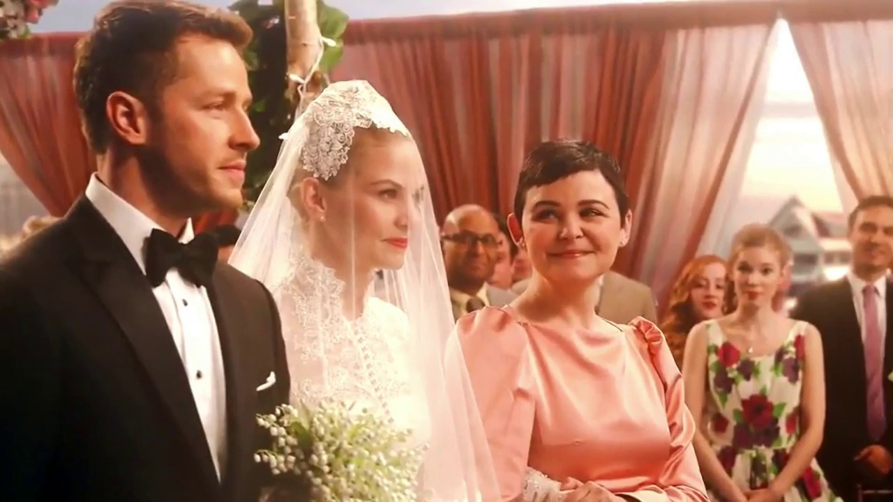 Once Upon a Time 6x20 Photo First Look - Emma in Wedding Dress - YouTube