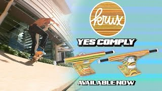 "Krux Trucks: Yes Comply! No Comply? Hell Yes Comply! Ron Whaley and Silas Baxter Neal can't keep their dang feet off the ground in this video featuring the New Yes Comply Trucks from Krux. Some wild variations! Krux Trucks: They No-comply and Stuff. Follow the dudes on Instagram: @Whalebonetown @SilasBaxterNeal @JoePerrin  SUBSCRIBE to the First Video Mag In Skateboarding! http://bitly.com/SubscribeToStrangeNotes  Stay Social! https://www.facebook.com/strangenotes87 https://twitter.com/strangenotes http://instagram.com/strangenotes  MUSIC: EG111111 ""P25"" cota303.net/artist/eg111111/13"
