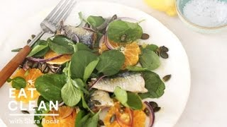 Watercress, Sardine, And Orange Salad - Eat Clean With Shira Bocar