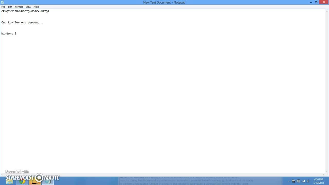 window 8.1 pro product key download