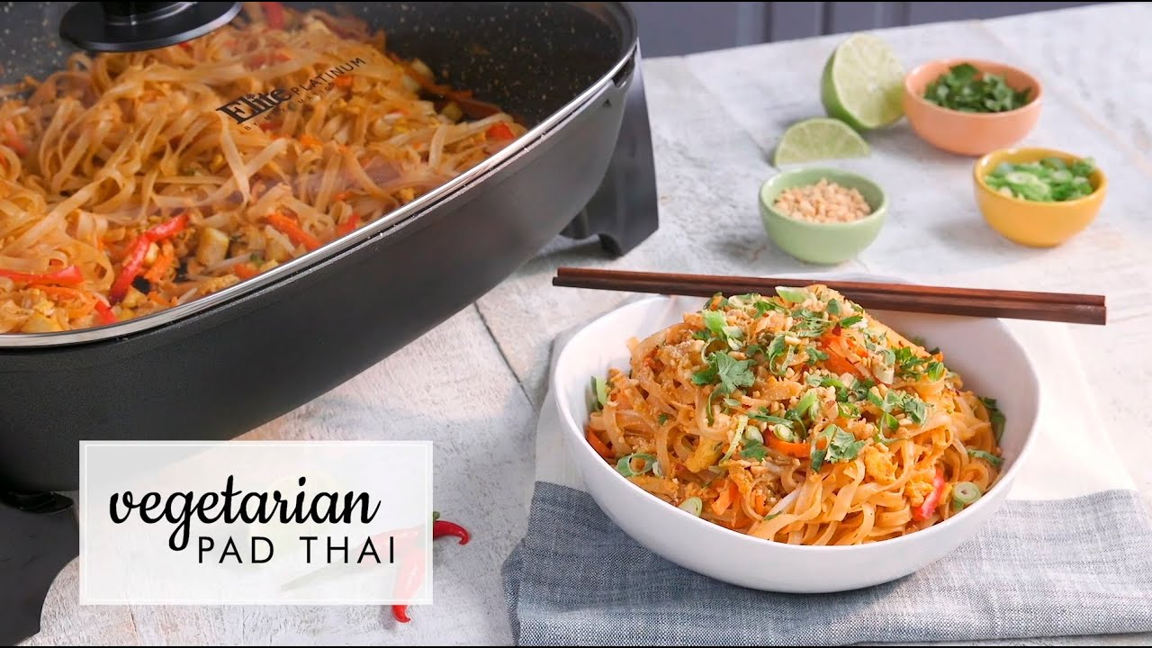 Vegetarian Pad Thai Recipe Jamie Oliver