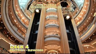 Enchantment of the Seas FULLY GUIDED SHIP TOUR