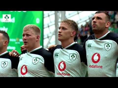 Irish Rugby TV: Ireland v Italy Tunnel Cam