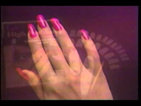 Old Lee Press On Nails Commercial From The 80s